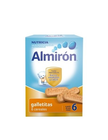 Almiron Galletitas 6 Cereales, 180g