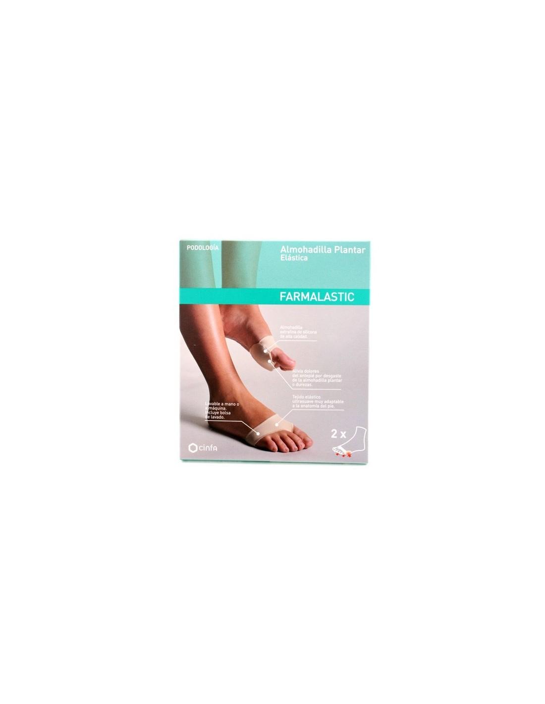 Almohadilla Plantar Farmalastic, Talla M | Plantillas y Descanso pies