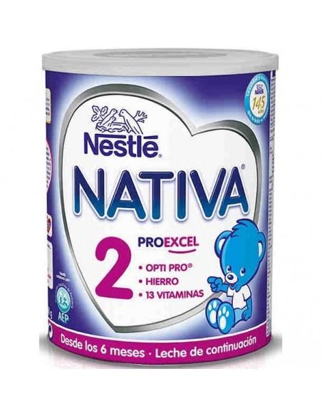 Nestlé Nativa 2 Leche infantil de contrinuación, 800g