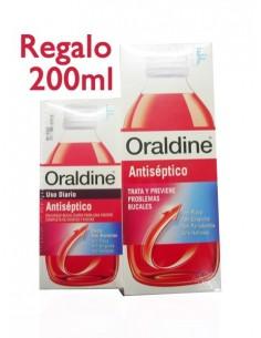 Oraldine Colutorio Antiséptico Uso Diario, 400ml + REGALO 200ml