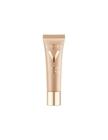 Vichy Teint Idéal Crema Fondo de Maquillaje Iluminador Tono Moyen SPF 20, 30ml