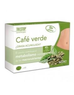 Café Verde Triestop Control de Peso, 60 comprimidos.