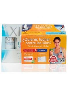 Pack XLS Cure Intensive Drenante, 10 viales bebibles + Zenoctil Quemagrasas, 60 comp