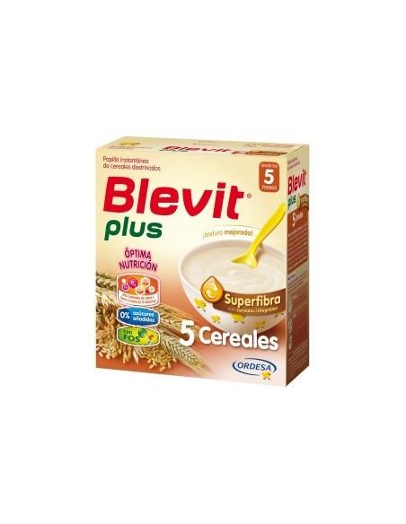 Ordesa Blevit Plus Superfibra Papilla 5 Cereales, 600g