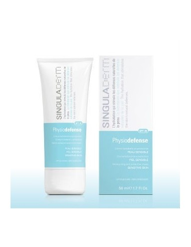 Singuladerm Physiodefense Crema Hidratante Piel Sensible, 50ml