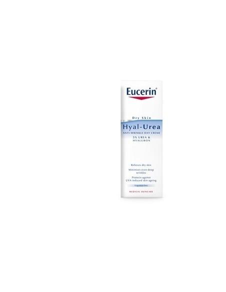 Eucerin Hyal-Urea Crema Día Antiarrugas Piel Seca, 50ml