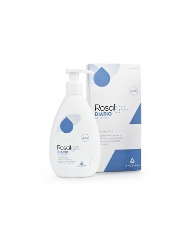 Rosalgel Defensa Gel Íntimo, 250ml