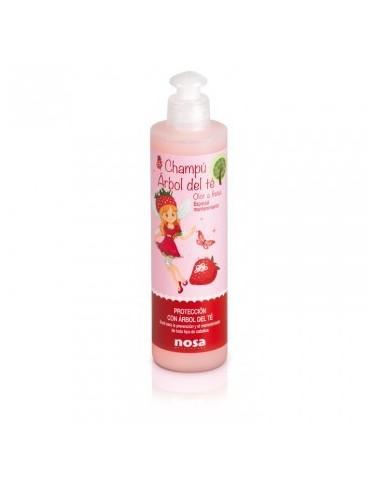 Spray Desenredante Triple Acción Nosa Fresa, 250ml
