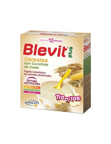 Blevit Plus Cereales con Pepitas de Chocolate, 600g