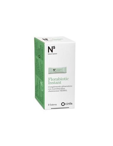 Cinfa N+S Nature System Florabiotic, 30 cápsulas