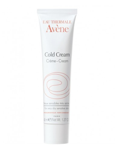 Avene Eau Thermale Cold Cream Facial, 40ml