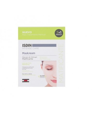 Isdin Intense Care Maskream Matificante, 3 ud + Regalo 1ud
