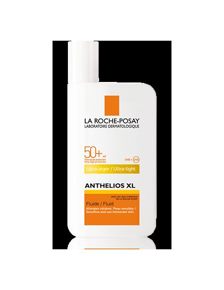 La Roche Posay Anthelios XL Fluido Ultra ligera SPF 50+, 50ml
