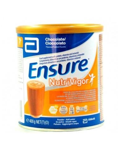 Ensure NutriVigor Chocolate Polvo, 400g