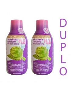 Arkofluido Alcachofa Mix Detox Pack Plan 28 días, 2x 280ml
