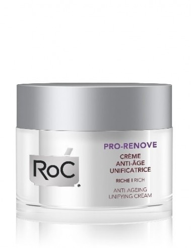 Roc Pro-Renove Crema Anti-Edad Unificante, 50ml