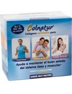 Protein Colnatur Colágeno Natural Alimentario Monodosis 10g, 21 Sobres