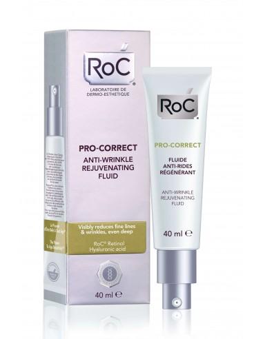 Roc Pro-correct fluído antiarrugas rejuvenecedor, 40ml