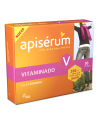 Apisérum Vitaminado con Jalea Real fresca y Vitaminas , 30 capsulas