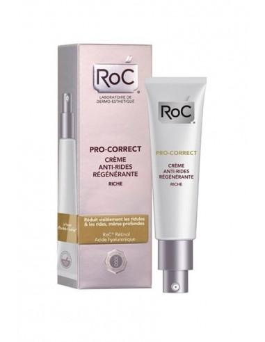 Roc Pro-Correct Crema Antiarrugas Rejuvenecedora, 40ml