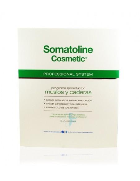 Somatoline Cosmetic Professional System Programa Liporeductor Muslos y caderas 15 aplicaciones