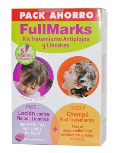 FullMarks Solución Pediculicida Antiparasitario, 100ml