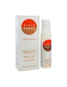 Rapid Bronz Crema Fluida Prepara la piel para el sol Cara-Cuerpo 100 ml