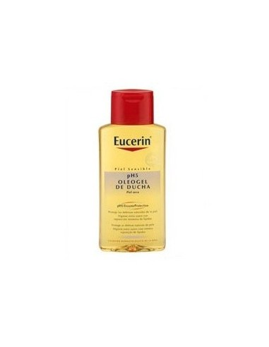 Eucerin Piel sensible pH5 Oleogel de ducha, 200ml