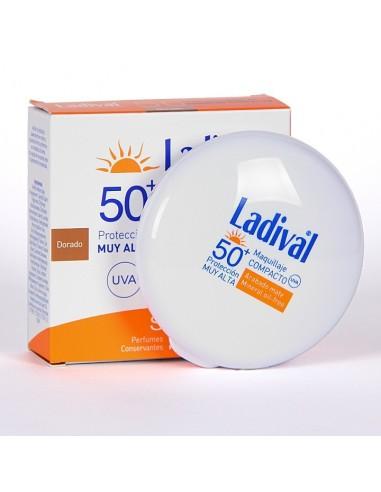 Ladival 50+ Protección solar en maquillaje compato,10g