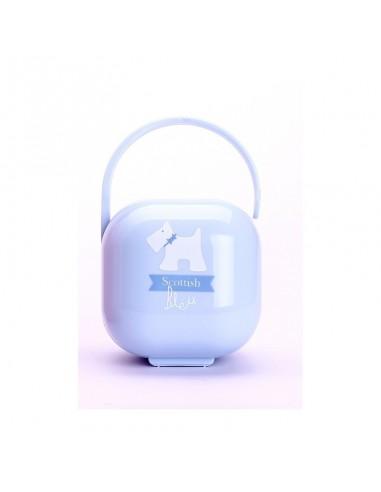 Suavinex Portachupete Scottish Bleu +0m, 1Ud