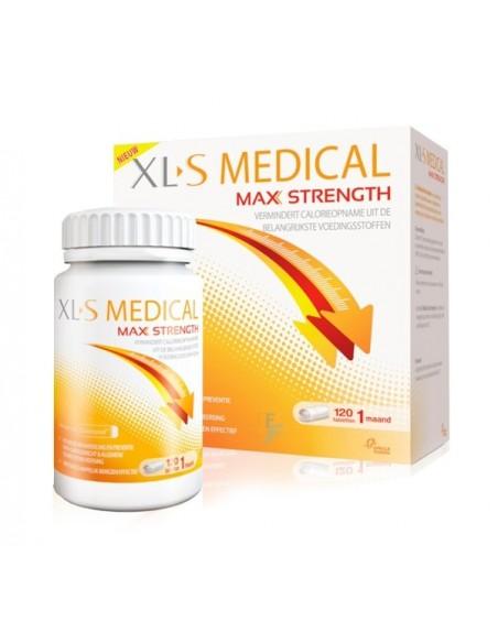 XLS Medical Max Strength, 120 Comprimidos