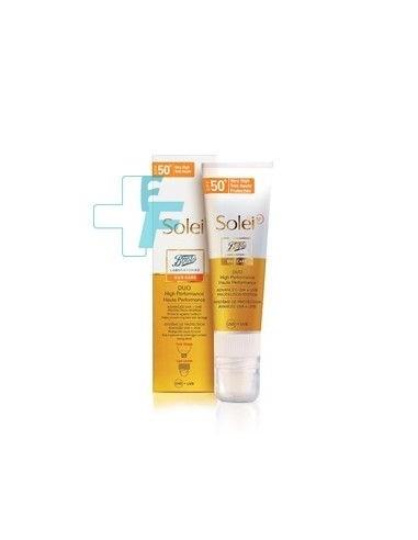 Boots Solei SP Sun Care Duo Alta Eficacia SPF50+, 50ml