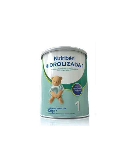 Nutriben Leche Hidrolizada 1, 400g