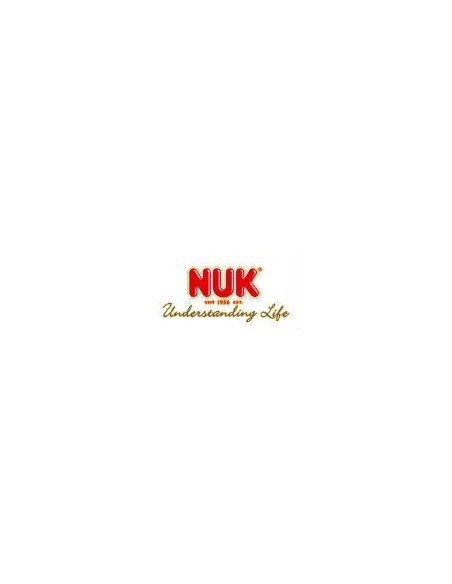 Nuk Biberon Cristal First Choice Latex T-1 0-6m, 120ml