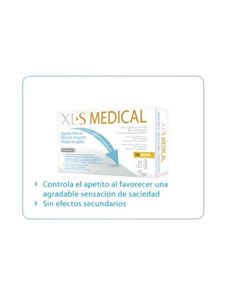XLS Medical Reductor del Apetito, 60 comp