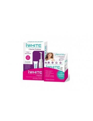 iwhite Intense, Dental Polisher + Kit iwhite 2 instant, 6 moldes