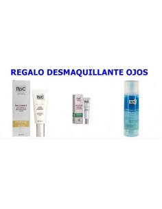 Roc Pro-Correct Fluido Antiarrugas, 40 ml + Pro-Sublime contorno de ojos, 15 ml + Desmaquillante Ojos, 125 ml