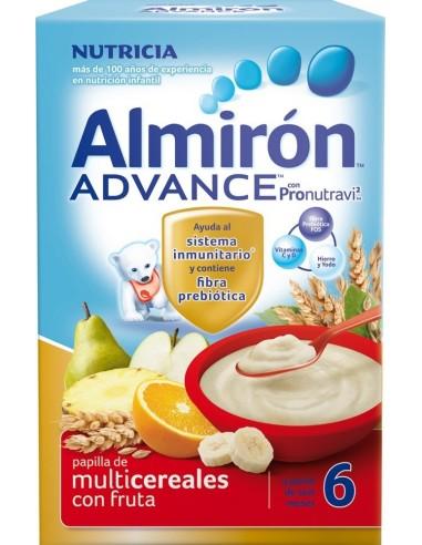 Almirón Advance Multicereales con Fruta, 500g