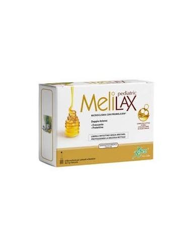 Melilax Pediatric, 6 Microenemas para Lactantes y Niños de 5 g cada uno
