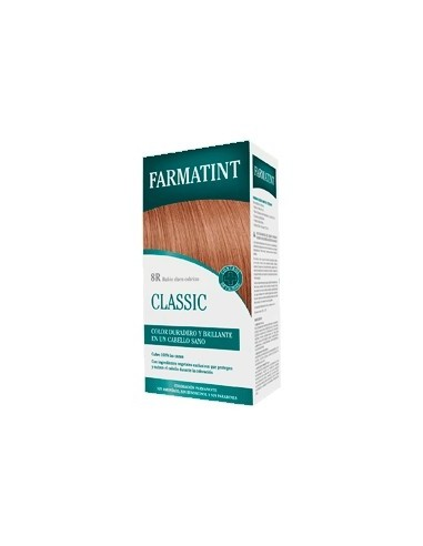 Farmatint 8R Rubio claro cobrizo,130 ml