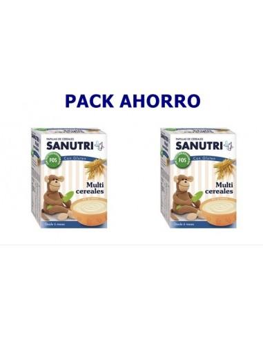 Sanutri Duplo Papilla 8 cereales, 2x 600g