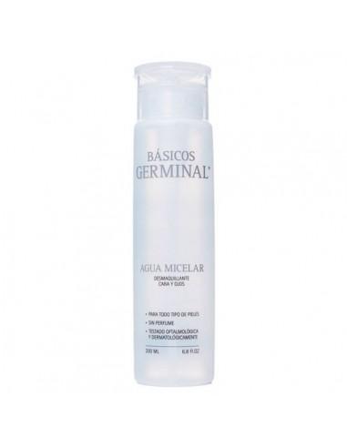 Germinal Agua Micelar Desmaquillante Cara y Ojos, 200ml