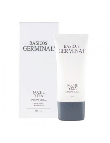 Germinal Crema Hidratante 24 horas, 50ml