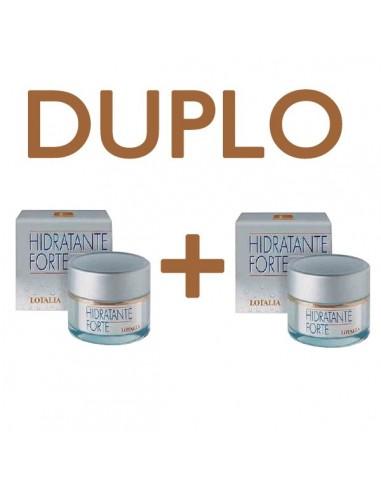Lotalia Crema Hidratante Forte, 50ml + Crema Nutritiva Activa, 50ml