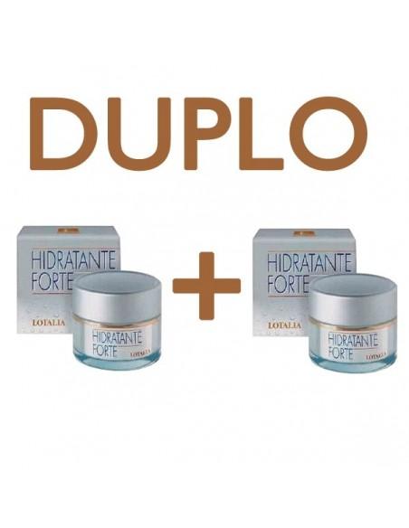 Lotalia DUPLO Crema Hidratante Forte, 2x 50ml