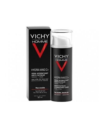 Vichy Homme Hydra Mag C+ Tratamiento Antifatiga, 50ml