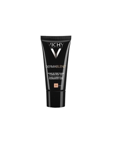 Vichy Dermablend Fondo de Maquillaje Corrector Nº 35 Sand, 30ml