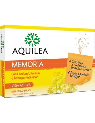 Aquilea Memoria Multivitaminico Vida Activa, 30 cápsulas