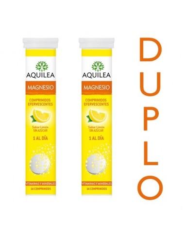Aquilea PACK Magnesio Efervescente, 2x 14 Comprimidos