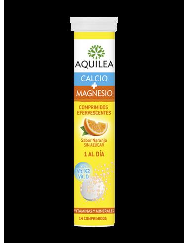Aquilea Magnesio + Colageno sabor limón, 30 Comprimidos masticables